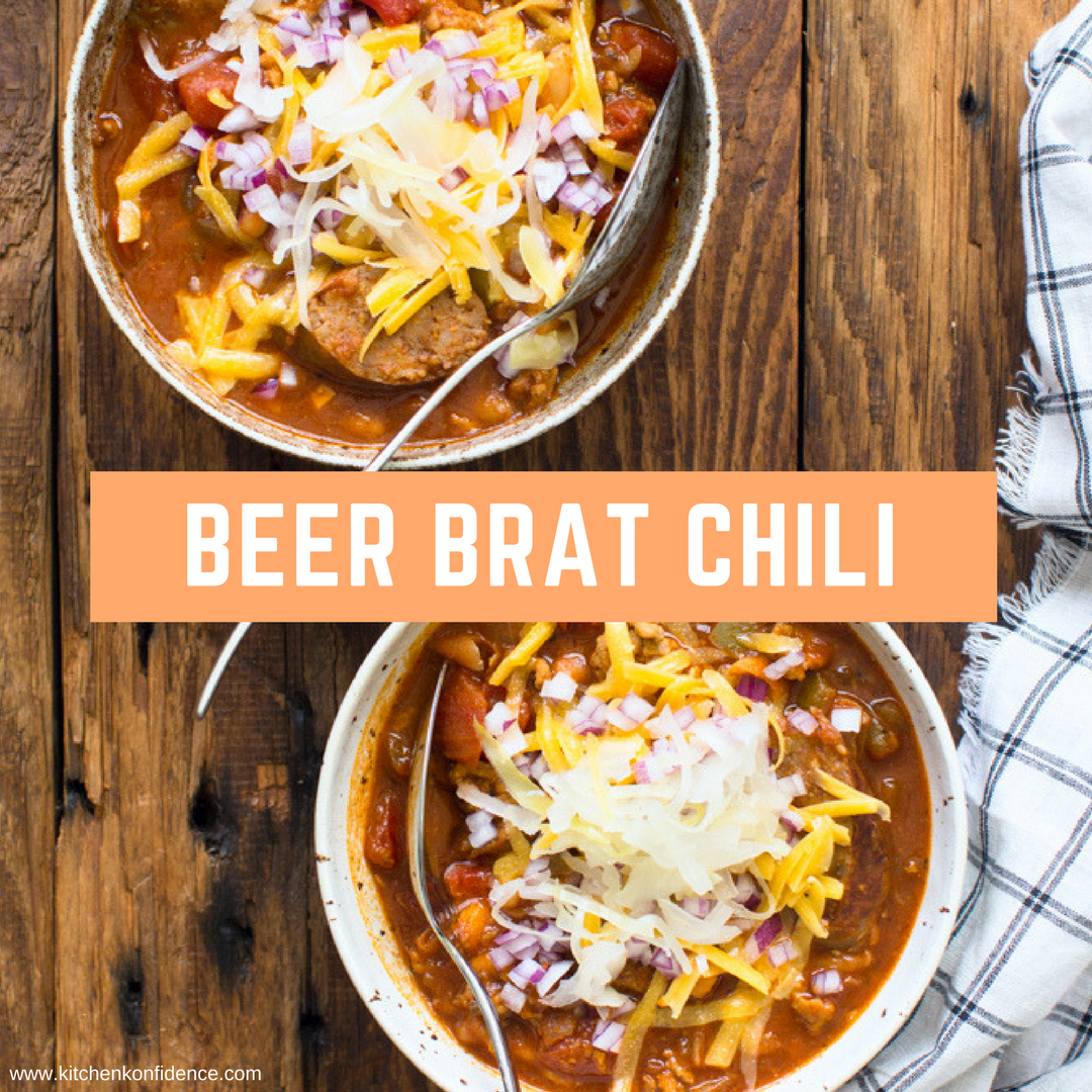 Image of beer brat chili.