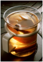 Image of a cinnamon drink.