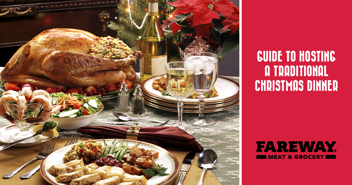 Easy Christmas Dinner.Tips Ideas Fareway Guide To Hosting A Traditional