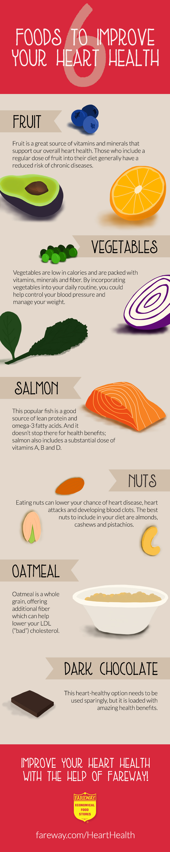6 Foods to Improve Heart Health