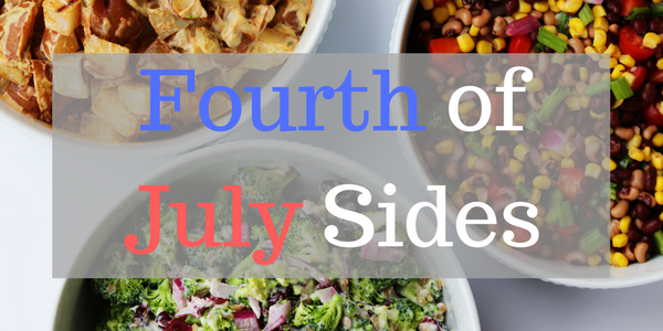 Image of the Fourth of July Sides infographic.