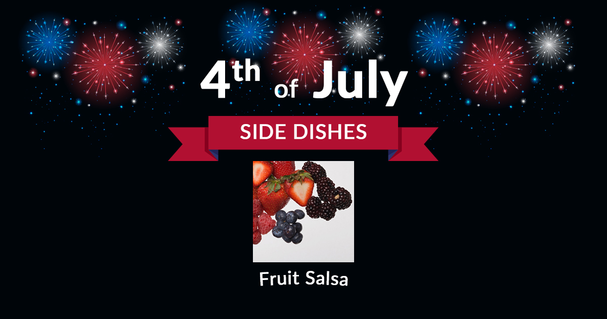 4th of July Side Fruit Salsa