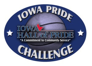 Iowa Pride Challenge graphic.