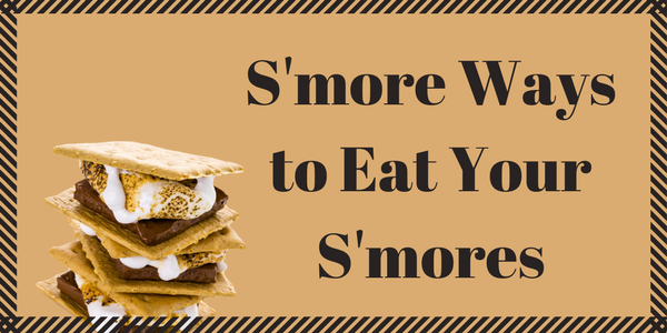 Image of a Fareway infographic with an image of s'mores.