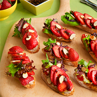 Strawberry Toast Appetizer