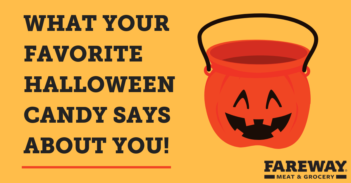 What your favorite halloween candy says about you