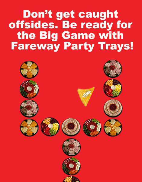 Image of the Fareway Big Game Party Trays infographic.