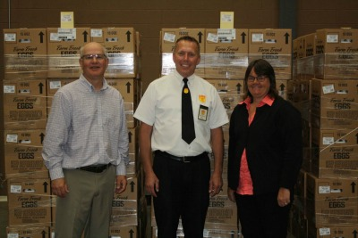 Northeast Iowa Food Bank donation