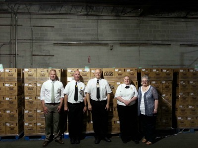 Food Bank of Sioux donation