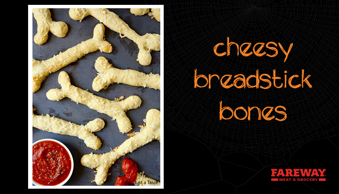 cheesy breadstick bones