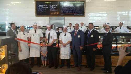 Omaha Meat Market ribbon cutting