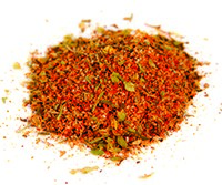 Follow this link to see the Spicy Three-Pepper Rub Recipe