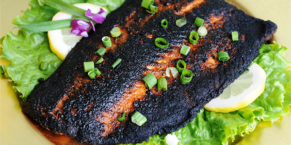 Spicy Blackened Fish