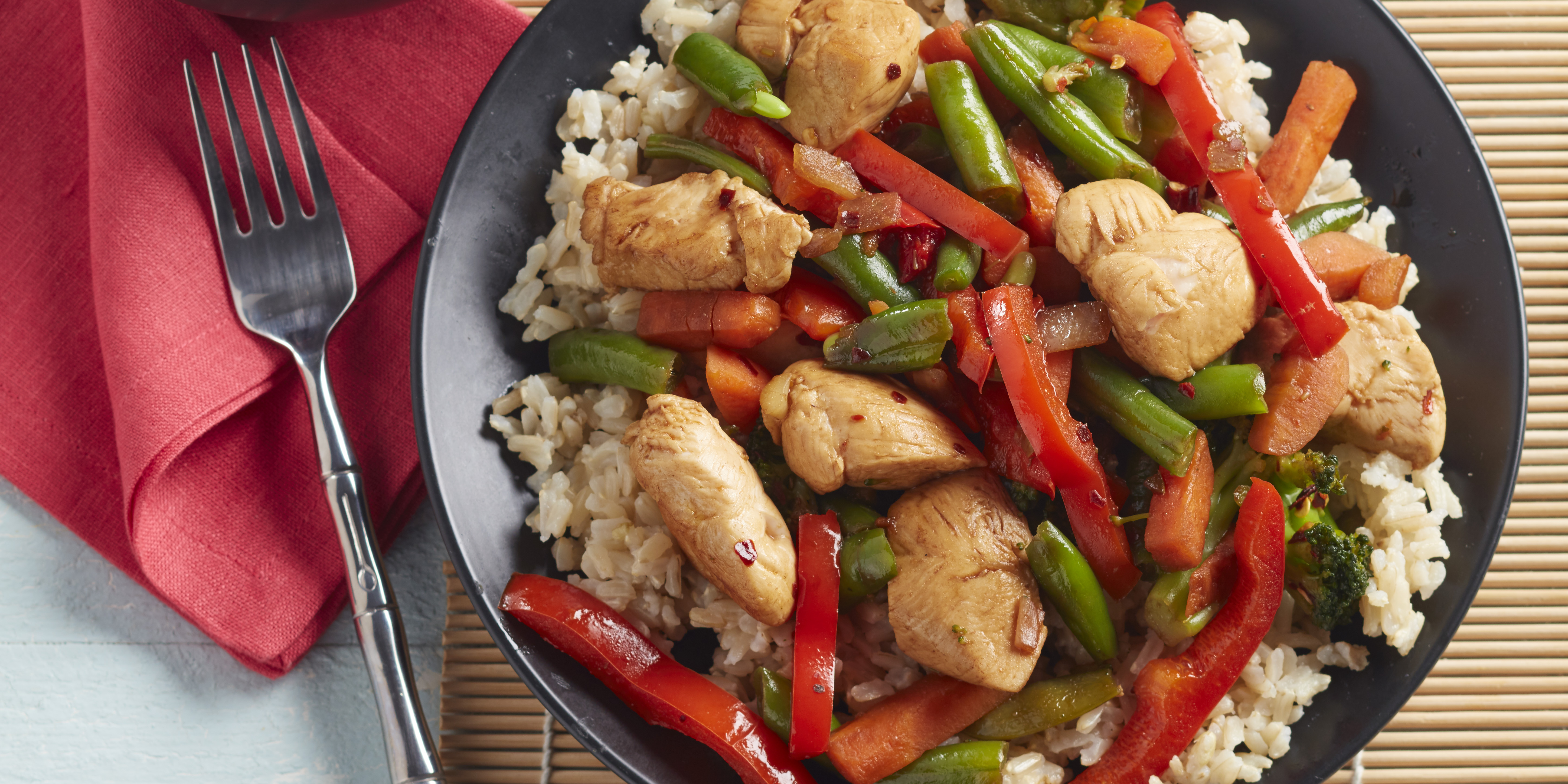 Szechuan Chicken and Vegetables