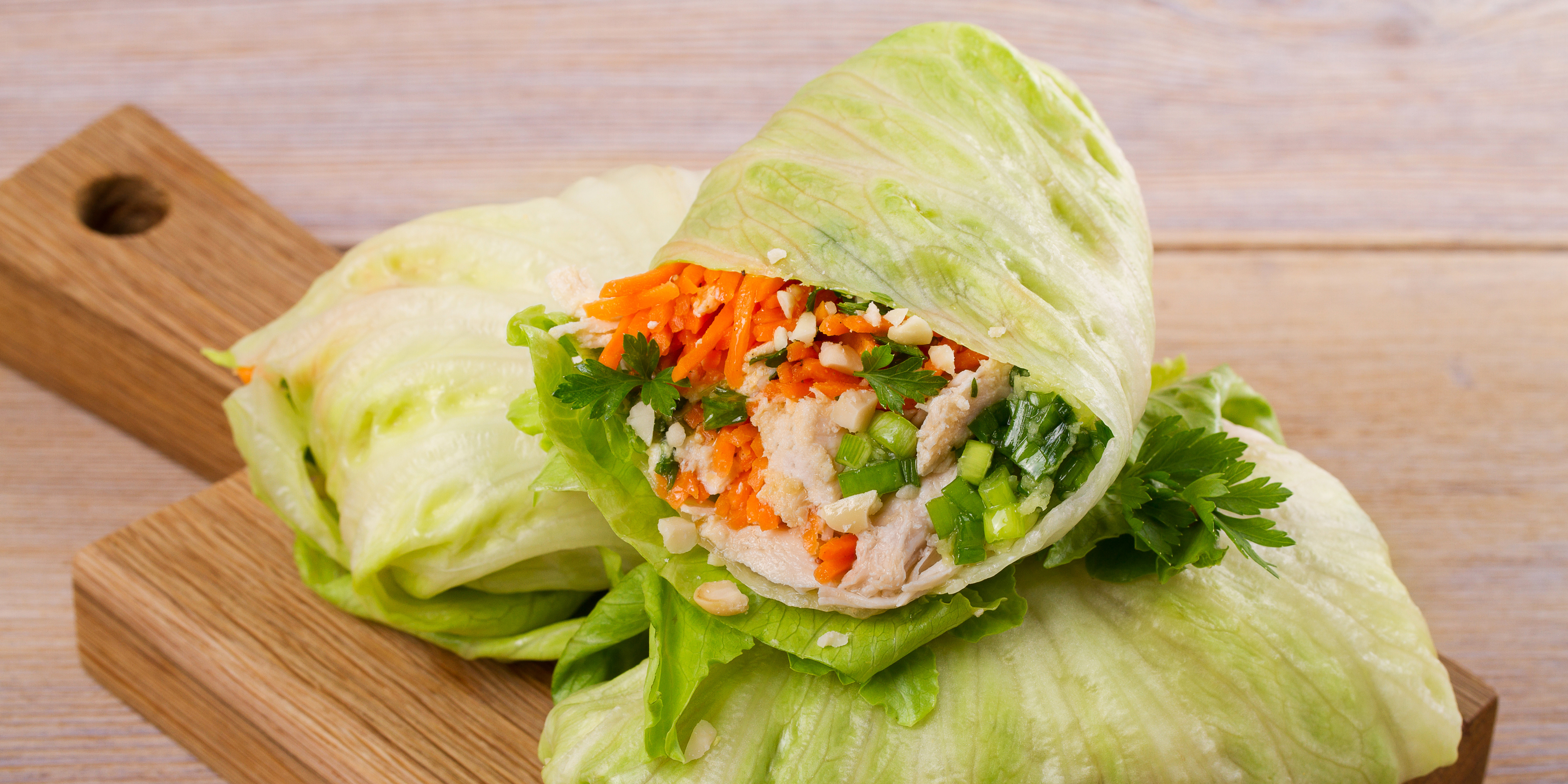 Asian Style Cabbage Wraps