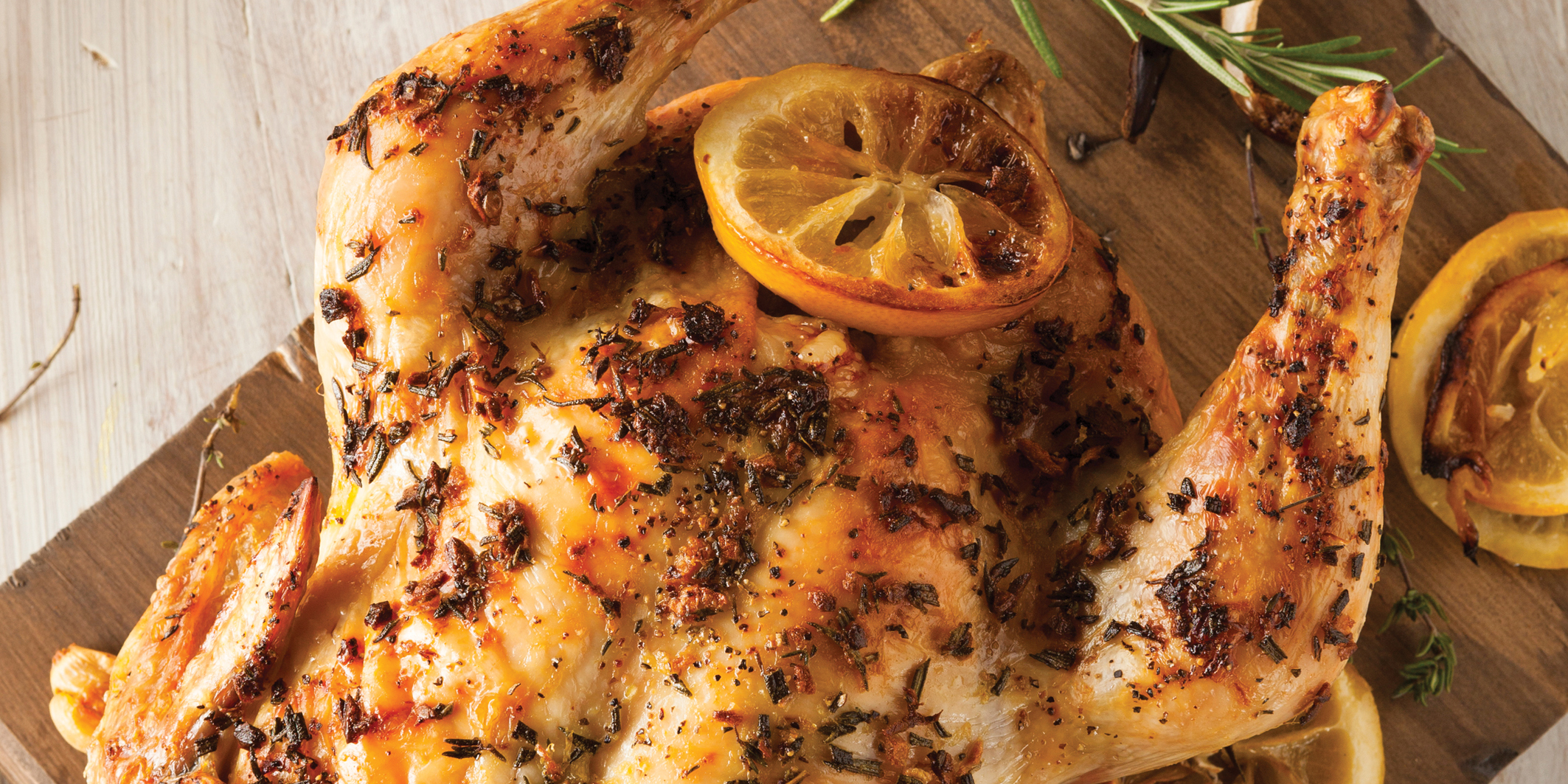 Roasted Thyme Chicken
