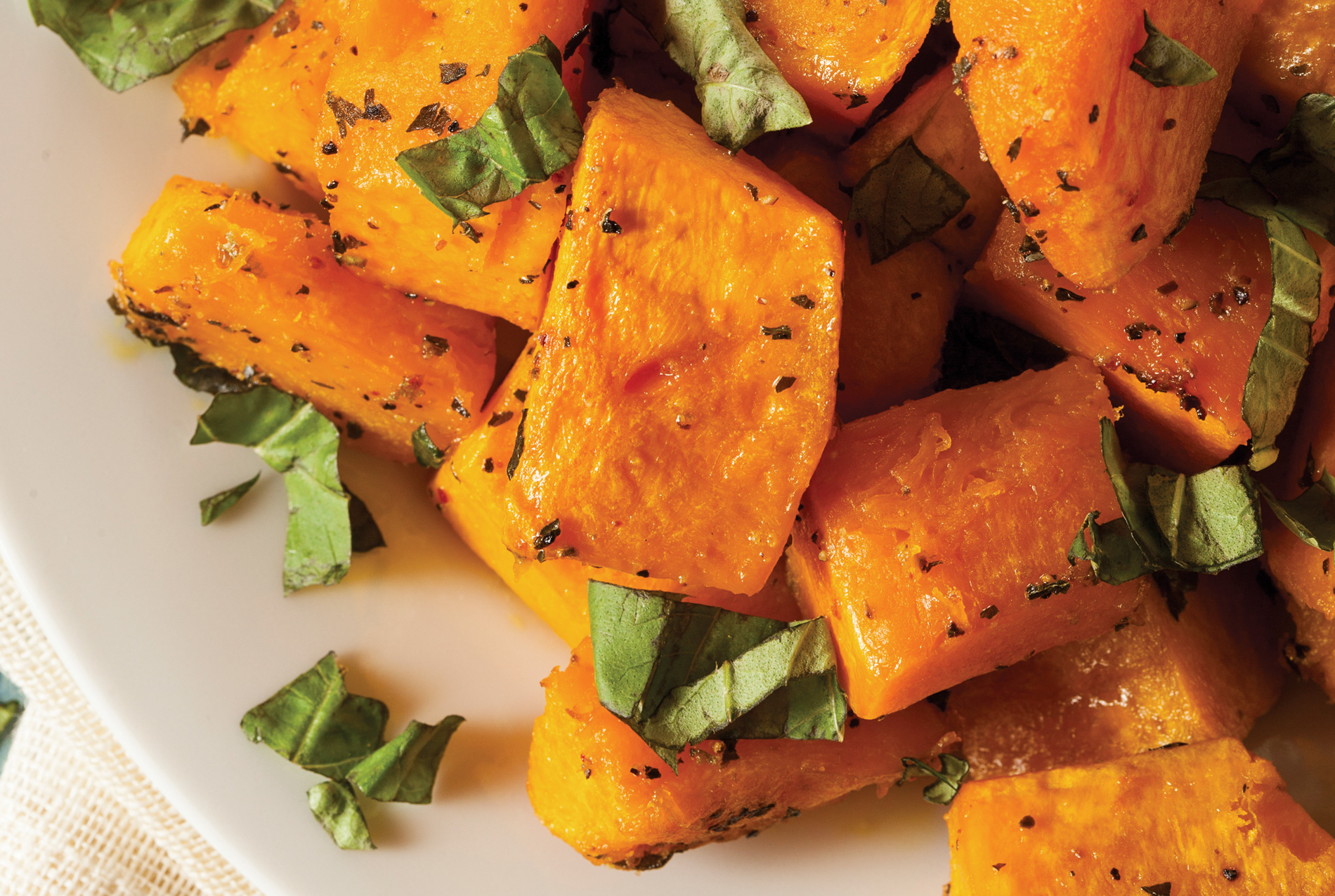 Roasted Parmesan Butternut Squash