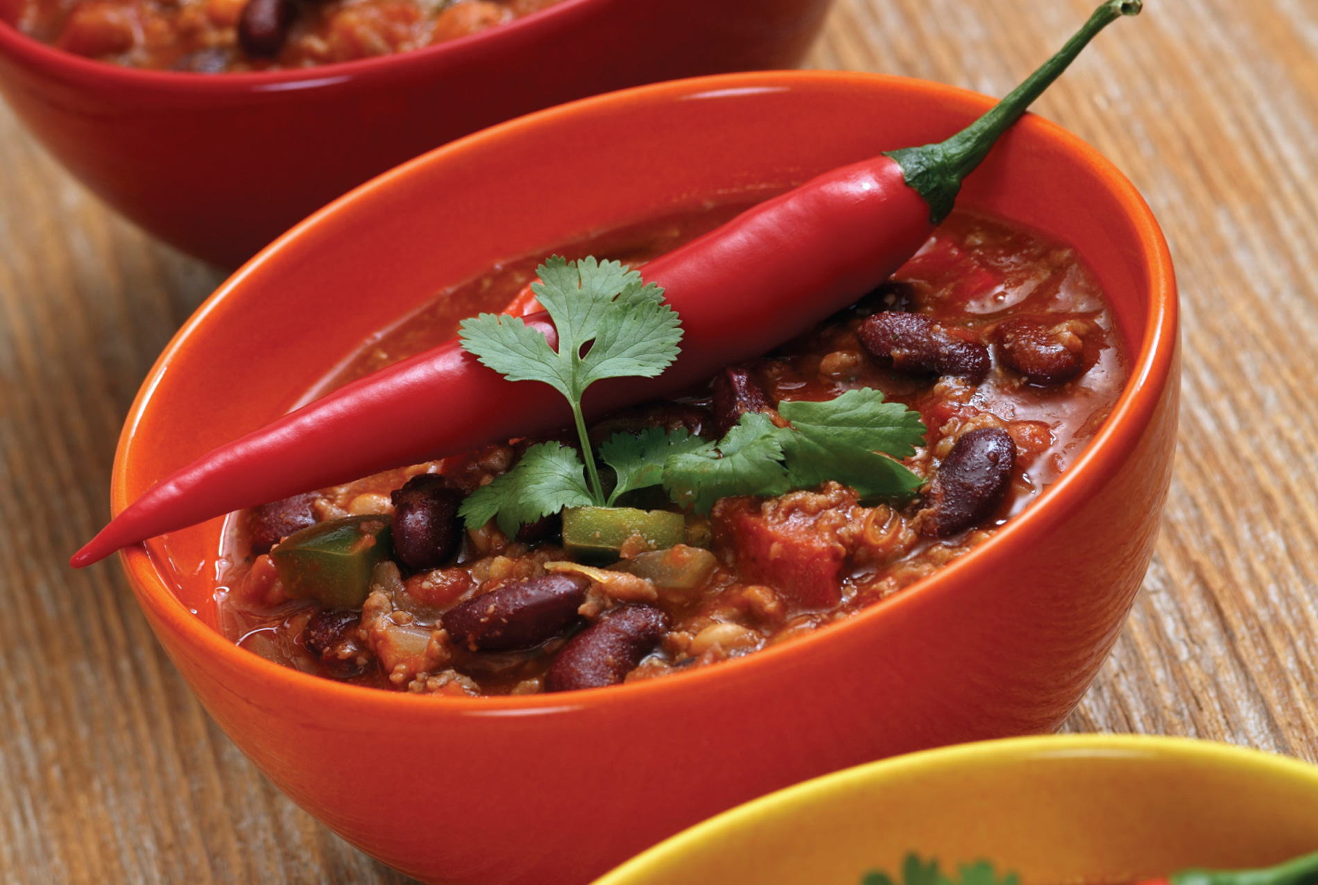 ... Easy Recipes and Dinner Ideas | Three Bean and Beef Chili | Fareway